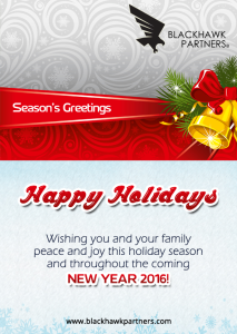 Happy Holidays - New Year 2016