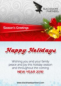 Happy Holidays - New Year 2016
